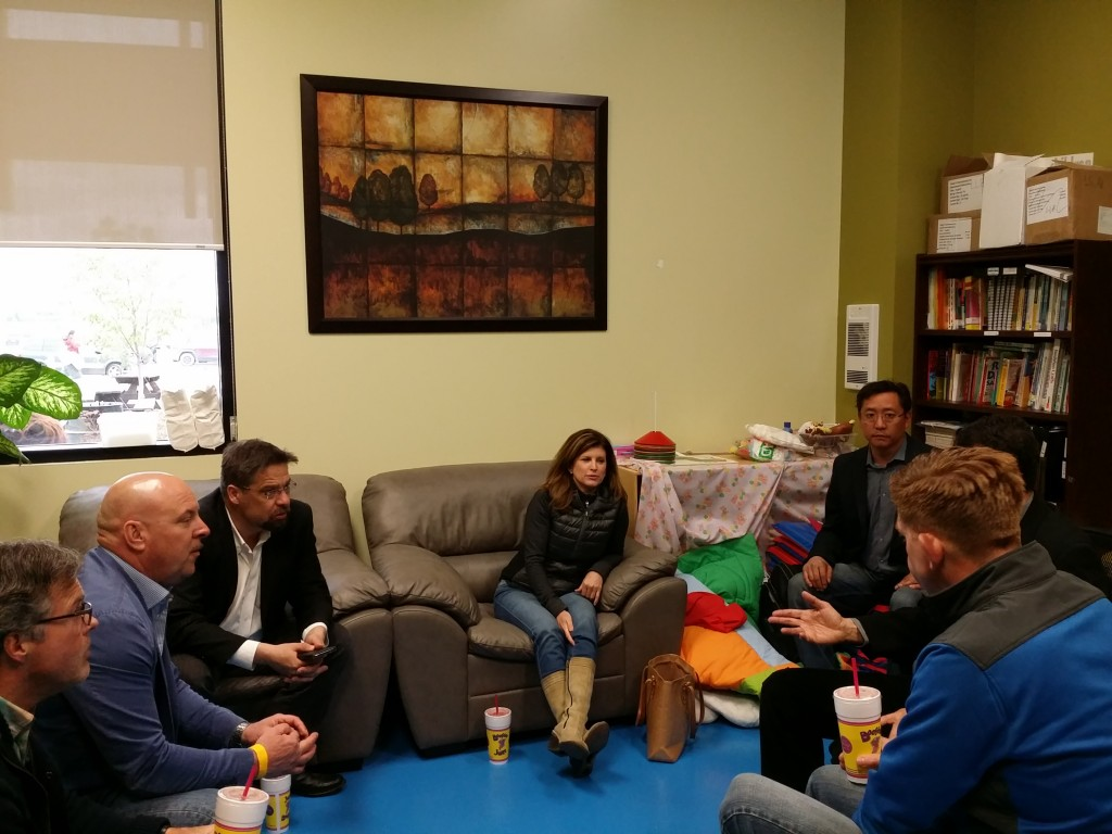 Meeting with Rona Ambrose in Lac La Biche