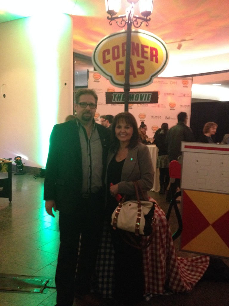 At Corner Gas the Film Premier in Ottawa