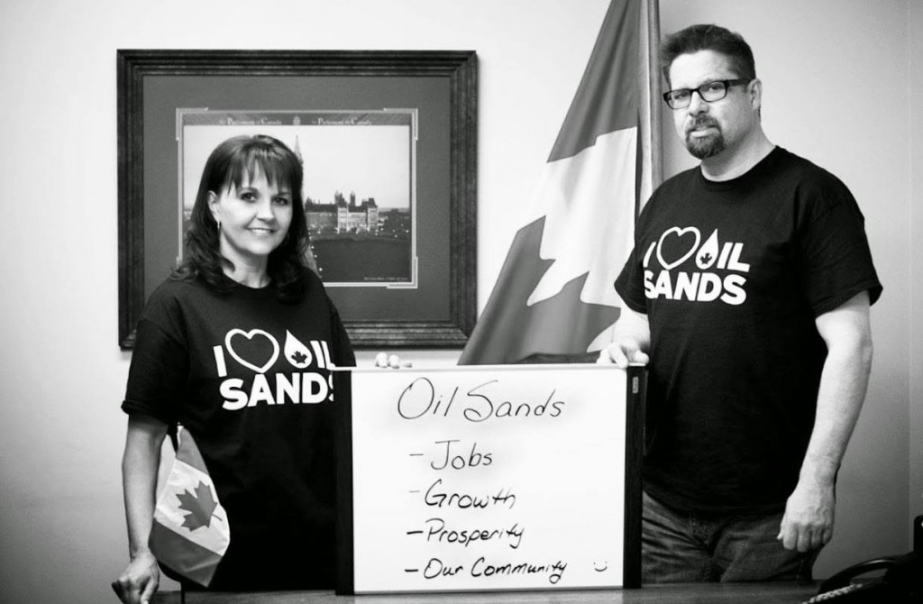 I love the oil sands